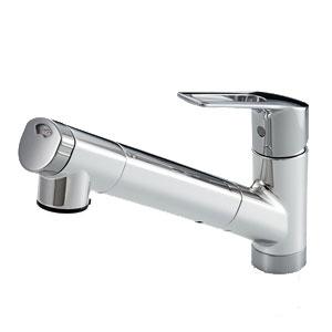 *パナソニック*QSKM6001EPC/QSKM6001ZEPC 浄水器一体型シャワー混合水栓[浄水カートリッジ内蔵]【送料・代引無料】