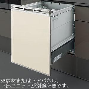 *パナソニック*QSS45RD6SD 食器洗い乾燥機 幅450mm ドアパネル仕様 シルバー色【送料・代引無料】