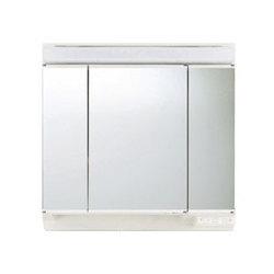 *トクラス*MBA0905KB 洗面化粧台[EPOCH] ミラーキャビネット 3面鏡 間口90cm 蛍光灯