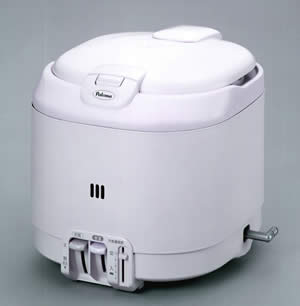 パロマ ガス炊飯器 電子ジャー付(5.5合炊き) PR-100J
