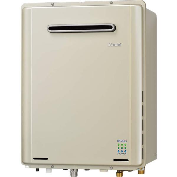 リンナイ 高効率ガスふろ 給湯器 エコジョーズ RUF-E1615AW 16号フルオート/壁掛型