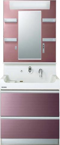 *クリナップ*BSP75SFY+M-751SP 洗面化粧台 S[エス]シリーズ [間口75cm]