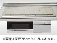 *クリナップ*ZEFCR6H10LSS IHクッキングヒーター ビルトインタイプ 天板60cm 水無両面焼 シルバー
