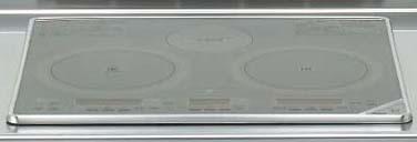 *クリナップ*3G-EMLS IHクッキングヒーター ビルトインタイプ 天板60cm グリルレス シルバー