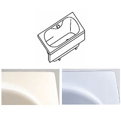 *クリナップ*CLG-141Y[L/R]/CLG-141Z[L/R] アクリックス浴槽 コクーン 間口140cm〈メーカー直送送料無料〉