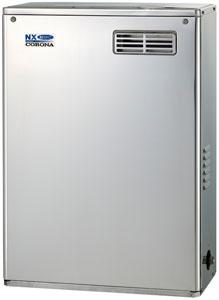 ☆【無料3年保証/工事もご依頼で5年】*コロナ*UIB-NX46HP[MSD] 石油給湯器 貯湯式屋外据置型 [給湯専用] 前面排気 4万キロ リモコン付属【送料・代引無料】