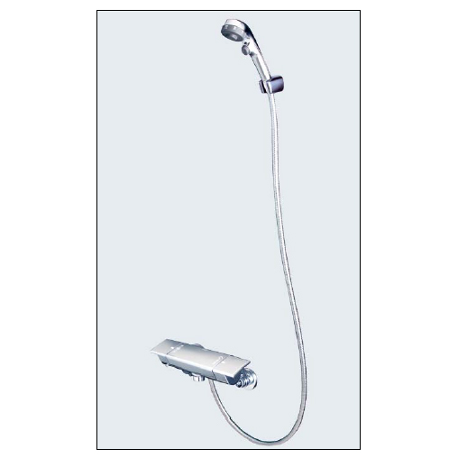*KVK水栓金具*浴室用水栓 バス水栓 KF3050WES 3wayワンストップ付サーモスタット式シャワー 寒冷地用【送料・代引無料】