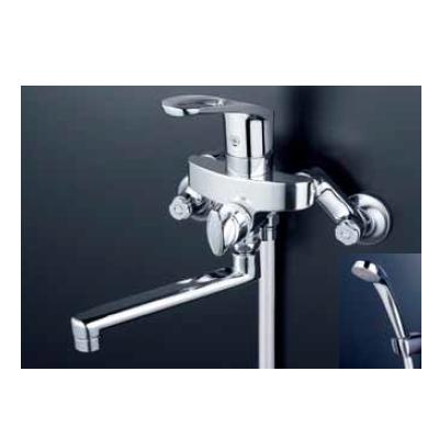 *KVK水栓金具*浴室用水栓 バス水栓 KF5000TMB フルメタルシリーズ シングルレバー式シャワー 一般地用【送料・代引無料】
