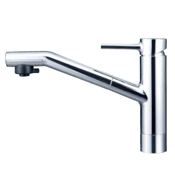 *KVK水栓金具*キッチン水栓 KM908 equal 一般地用 流し台用シングルレバー式シャワー付混合栓【送料・代引無料】