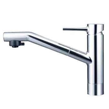 *KVK水栓金具*キッチン水栓 KM908Z equal 寒冷地用 流し台用シングルレバー式シャワー付混合栓【送料・代引無料】