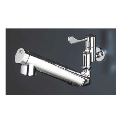 *KVK水栓金具*キッチン水栓 K1610ZN 浄水器内蔵自在水栓 210mmパイプ付 寒冷地用【送料・代引無料】