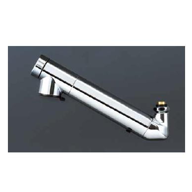 *KVK水栓金具*キッチン水栓 ZS202ZN 浄水器内蔵吐水パイプ13[1/2]用 210mmパイプ付 寒冷地用【送料・代引無料】
