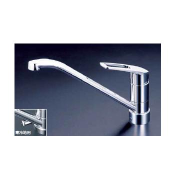 *KVK水栓金具*キッチン水栓 KM5211JT/KM5211ZJT 流し台用シングルレバー式混合栓 上施工シリーズ【送料・代引無料】