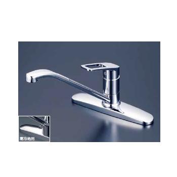 *KVK水栓金具*キッチン水栓 KM5006T/KM5006ZT 流し台用シングルレバー式混合栓【送料・代引無料】
