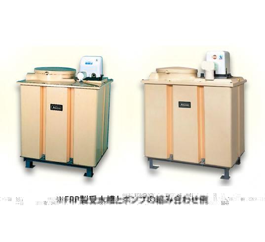 *川本ポンプ/kawamoto*NF2-250SK 1000L FRP受水槽付[受水槽+ポンプ] 単相100V 250W 単独方式 カワエースシリーズ【メーカー直送送料無料】