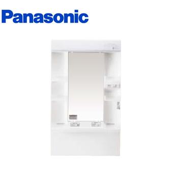 *パナソニック*XGQM60K1SMKC [MLINE] 洗面化粧台 電源コード付 ミラーキャビネットのみ 60cm 蛍光灯1面鏡 くもりシャット仕様