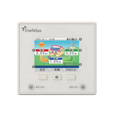 *田淵電機*ZREM-35ENP01 リモコン 単相PCS用リモコン 出力制御対応