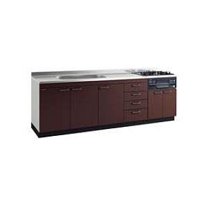 *タカラスタンダード*KIY240[L/R]+TN34-60 システムキッチン 流し台+ガスコンロ [アーバスフラット]