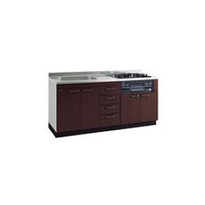 *タカラスタンダード*KIE170[L/R]+TN34-60 システムキッチン 流し台+ガスコンロ [アーバスフラット]