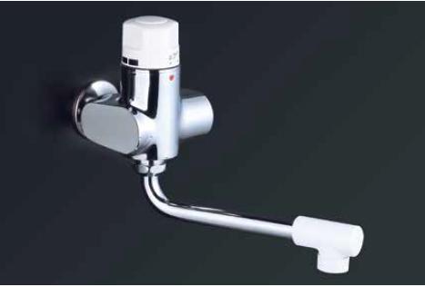 *KVK水栓金具*K1900 定量止水付単水栓 お湯ぴた〈送料・代引無料〉