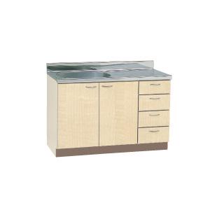 *丸南工業*CL120S[R/L] 流し台 CLシリーズ キッチンコンポ〈間口120cm〉