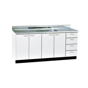 *丸南工業*VL170S[R/L] 流し台 VLシリーズ キッチンコンポ〈間口170cm〉