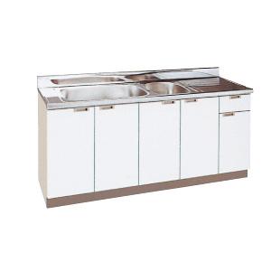 *丸南工業*NL170W[R/L] 流し台 NLシリーズ キッチンコンポ〈間口170cm〉