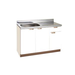 *丸南工業*NL120S[R/L] 流し台 NLシリーズ キッチンコンポ〈間口120cm〉