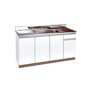 *丸南工業*WL150S[R/L] 流し台 WLシリーズ キッチンコンポ〈間口150cm〉