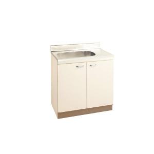 *丸南工業*JD80S[R/L] 流し台 LDシリーズ キッチンコンポ〈間口80cm〉