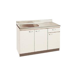 *丸南工業*JU120S[R/L] 流し台 JUシリーズ キッチンコンポ〈間口120cm〉