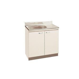 *丸南工業*JU80S[R/L] 流し台 JUシリーズ キッチンコンポ〈間口80cm〉