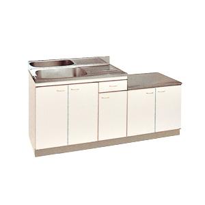 *丸南工業*KGLG170S[R/L] 流し台 Kシリーズ キッチンコンポ〈間口170cm〉