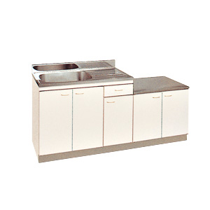 *丸南工業*KGL170S[R/L] 流し台 Kシリーズ キッチンコンポ〈間口170cm〉