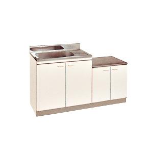 *丸南工業*KGS140S[R/L] 流し台 Kシリーズ キッチンコンポ〈間口140cm〉