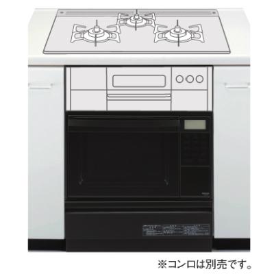 *大阪ガス*114-F403 ビルトインガスオーブン コンビネーションレンジ セットフリータイプ 35L 収納庫付
