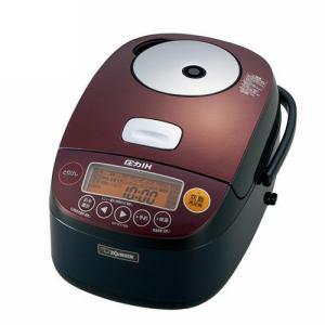*象印*NP-BY10M オリジナルモデル 圧力IH炊飯ジャー [鉄器コート豪熱羽釜] ブラック 〈送料無料〉