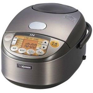 *象印*NP-VU10-TD オリジナルモデル IH炊飯ジャー [5.5合] ダークブラウン 〈送料無料〉