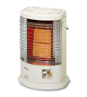 本物◆ 電源 AC100V 入荷予定 を使わず点火が可能 リンナイ R-852PMSIII C コンクリート造15畳 ガス赤外線ストーブ 木造11畳 4.07kW 送料無料