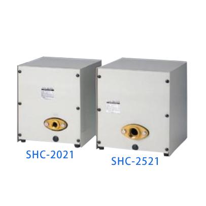 *SANSO/三相電機*SHC-2021A2 50Hz メカニカルシールレスタイプ 単相100V 家庭用ポンプ 給湯加圧ポンプ 圧力スイッチ・流量スイッチ併用式 RoHS対応品〈送料無料〉