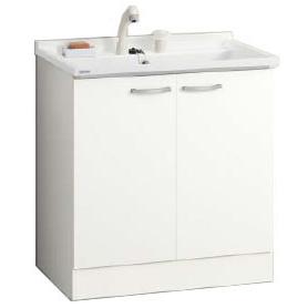 *クリナップ*BGAL75TNMKWS[ I /G] ベースキャビネットのみ 開きタイプ シャワー付きシングルレバー水栓 ホワイト [BGAシリーズ] [間口75cm]