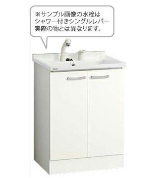 *クリナップ*BGAL60TNMWWS[ I /G] ベースキャビネットのみ 開きタイプ ホワイト ツインハンドル水栓 [BGAシリーズ] [間口60cm]