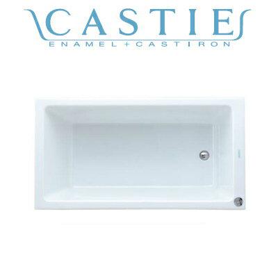 *DAIWA/大和重工*CIE-1475S[L/R] 300L CW クリスタルホワイト 幅140cm CASTIE ENAMEL ホーロー浴槽〈メーカー直送送料無料〉
