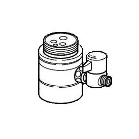*ナニワ製作所*NSJ-SMVA7 [デッキタイプ・シングルレバー] 湯水混合水栓用 分岐水栓