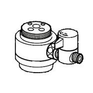 *ナニワ製作所*NSJ-SMVC8 [デッキタイプ・シングルレバー] 湯水混合水栓用 分岐水栓