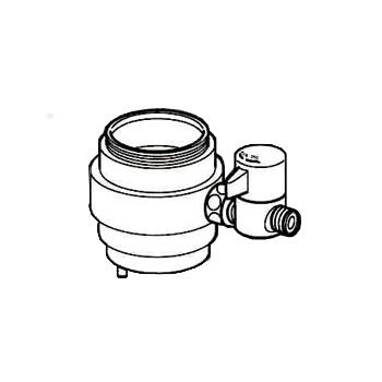 *ナニワ製作所*NSJ-SXB7 [デッキタイプ・シングルレバー] 湯水混合水栓用 分岐水栓