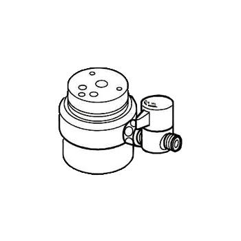 *ナニワ製作所*NSJ-SXC7 [デッキタイプ・シングルレバー] 湯水混合水栓用 分岐水栓