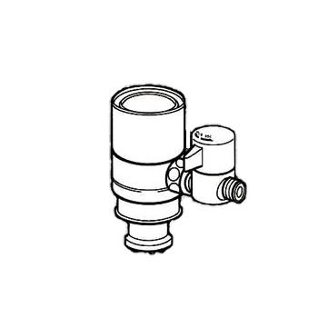 *ナニワ製作所*NSJ-SXK7 [デッキタイプ・シングルレバー] 湯水混合水栓用 分岐水栓