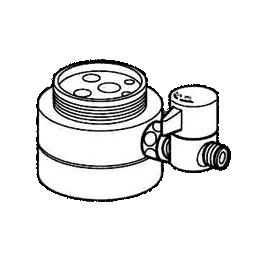 *ナニワ製作所*NSJ-SKG7 [デッキタイプ・シングルレバー] 湯水混合水栓用 分岐水栓
