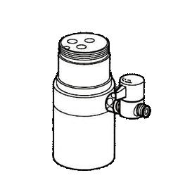 *ナニワ製作所*NSJ-STB7 [デッキタイプ・シングルレバー] 湯水混合水栓用 分岐水栓